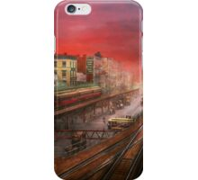 City - NY - Rush hour traffic - 1900 iPhone Case/Skin
