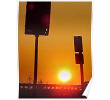 Sunset #5 Poster