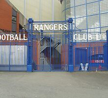 Rangers FC gates to Ibrox by boredscotsman