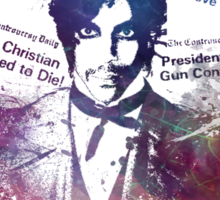 Prince Rogers Nelson - Controversy Sticker
