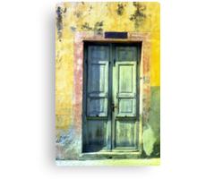 """Old Photo: """"Chinino di Stato"""" - Italian Traditional Shop Canvas Print"""