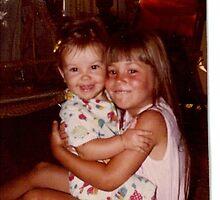 Circa 1980; Sisterly Love by KathyO