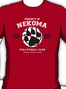 Team Nekoma T-Shirt
