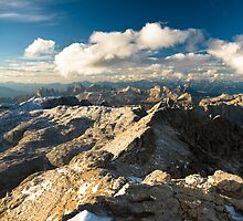 View from Piz Boe by peterwey