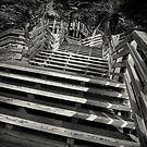 Zig zag stairs by Dave Hare