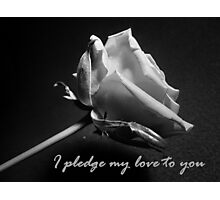 Pledge Photographic Print
