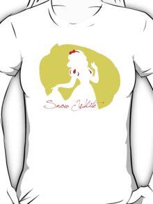 Snow White silhouette T-Shirt