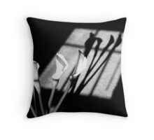 Shadows of PEACE Throw Pillow