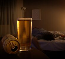 Too much beer by Gabriel Skoropada