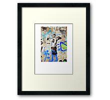 Che on Che Framed Print