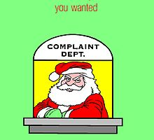 Complaint by Stormygirl