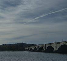 Washington Bridge,DC by aroobanajaf