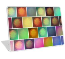 Multicolored suns Laptop Skin