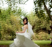 Dancing Bride by Carine  Boustany