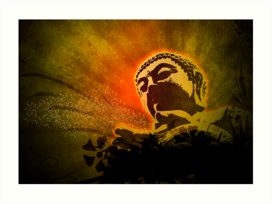 Buddha Bubbles by FredzArt