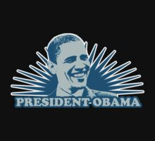 President Obama  Shirt by JayBakkerArt