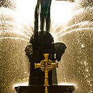 Fountain and the Cross by David Petranker
