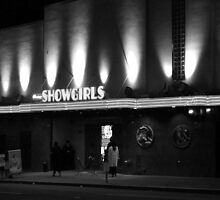 B/W Showgirls by aaronarroy