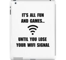 Lose Your WiFi iPad Case/Skin