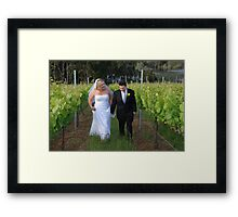 Wedding Bliss  Framed Print