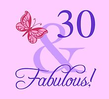 Fabulous 30th Birthday For Her by thepixelgarden