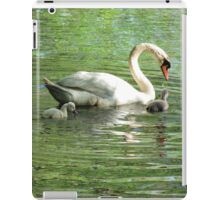 Swan Family iPad Case/Skin