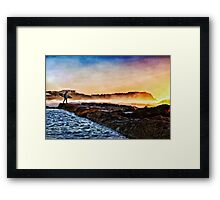 Run To The Water Framed Print