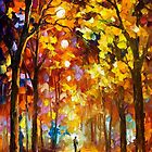 Listening To Silence — Buy Now Link - www.etsy.com/listing/223304519 by Leonid  Afremov