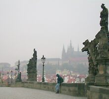 November Mist In Prague by HELUA
