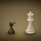 Pawn takes Queen by vladstudio