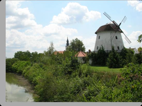 Windmill-Ravno selo by Ana Belaj