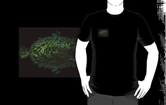 ROCK FISH T SHIRT POCKET IMAGE by adivawoman