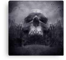 Gothic Horror Canvas Print