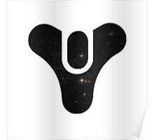 Destiny Logo - Galaxy (Black) Poster