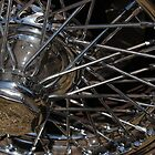 chrome spokes by Perggals© - Stacey Turner