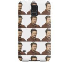 """Ron Swanson - """"No"""" Samsung Galaxy Case/Skin"""