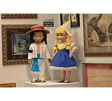 Disney Attraction It's A Small World Disney Ride / Dolls Photographic Print