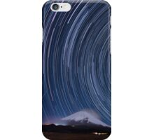 Startrails with Fujisan iPhone Case/Skin
