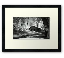 Moss and an Old Manse Framed Print