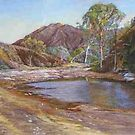 &#x27;Brachina Gorge&#x27; - Flinders Ranges by Lynda Robinson