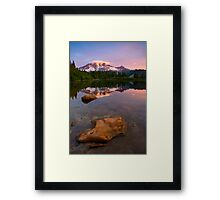 Red Mountain Dawn Framed Print