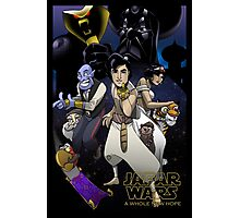 Jafar Wars: A Whole New Hope Photographic Print