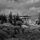 Temple of Hephaistos by Frans Harren