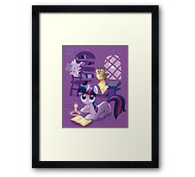 Twilight Sparkle - Bookworm Pony Framed Print