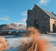 Church of the Good Shepherd in Snow by chriso