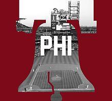 Philadelphia Phils by BeinkVin