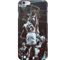 Kobe over Jordan iPhone Case/Skin