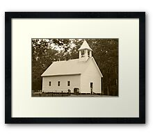 Primitive Baptist Church Framed Print