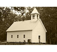 Primitive Baptist Church Photographic Print