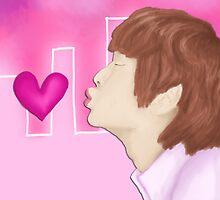 Jinki's Kiss by emcilree